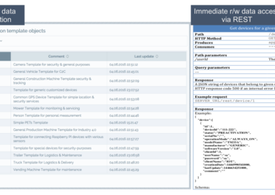 Open REST/XML Interfaces